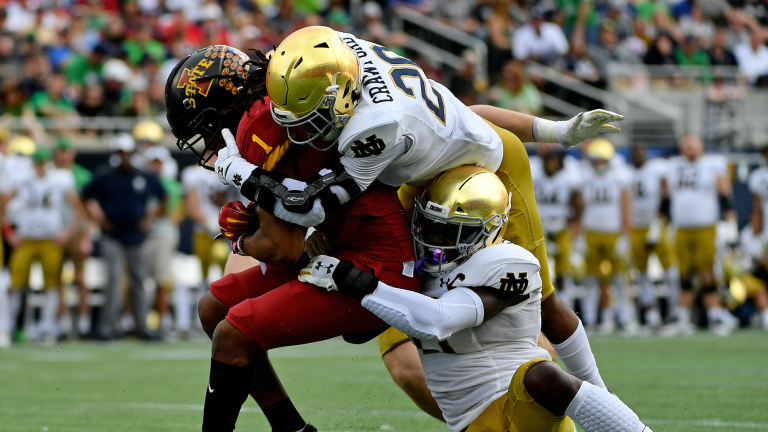 Game Observations: Notre Dame Defense vs. Iowa State