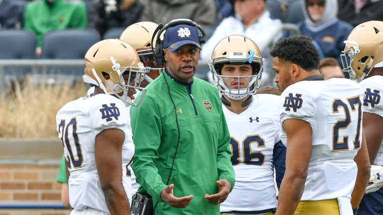 Corners Coach Todd Lyght Will Not Return To Notre Dame
