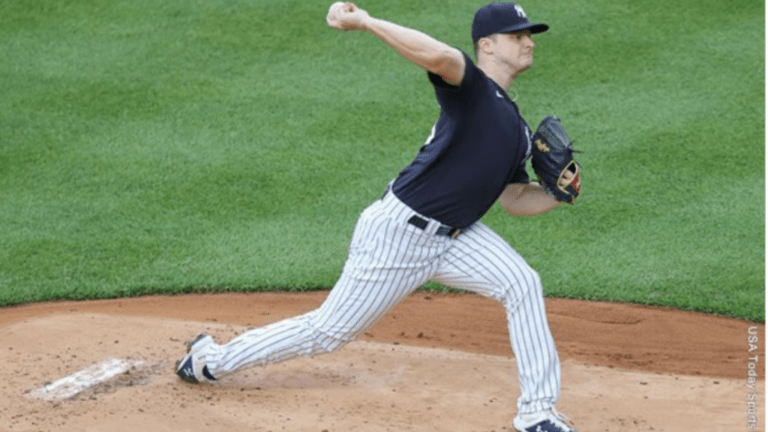 Schmidt Records Strikeout In Debut With The Yankees