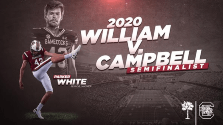 Parker White Nominated for Campbell Trophy