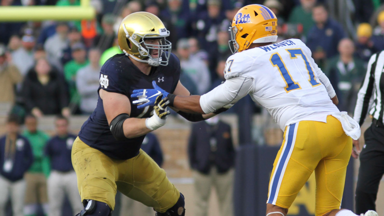 PODCAST: The Notre Dame Offensive Line Should Be Loaded With 2021 Draft Picks