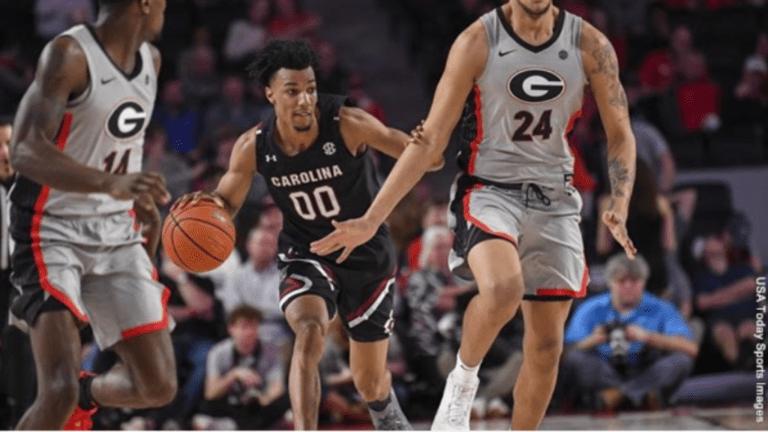 South Carolina pulls away early, beats Georgia 75-59