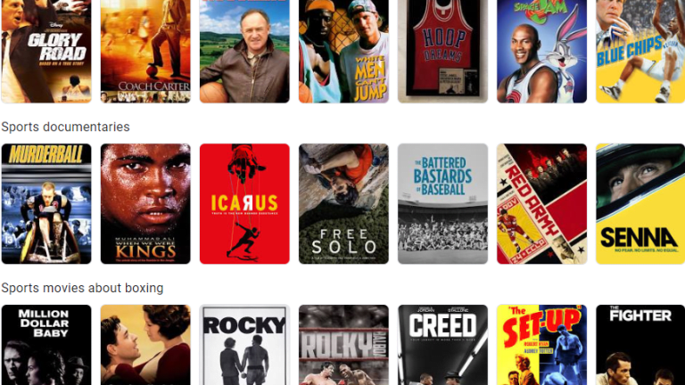 My Top-10 Favorite Sports Movies: A Cure for the Sports Shutdown