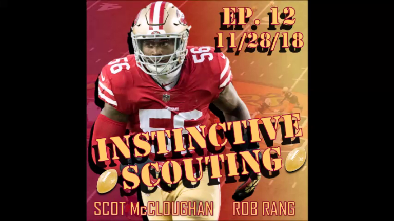 Former 49ers and Redskins GM Scot McCloughan discusses Reuben Foster