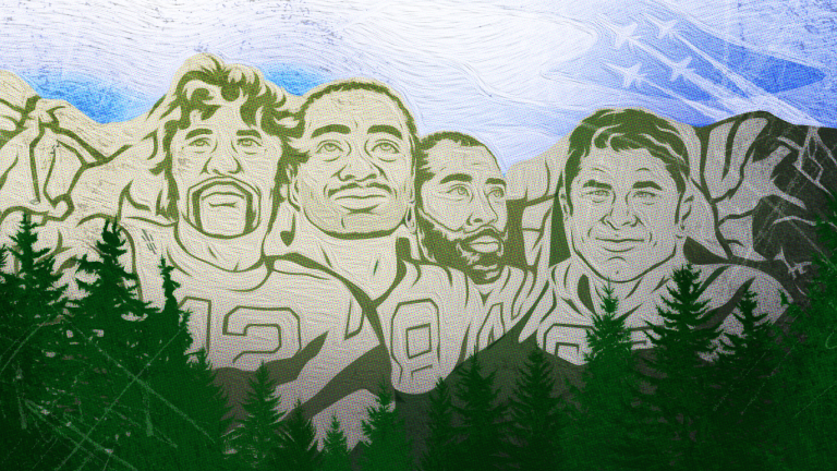 Three names on the New York Jets' Mount Rushmore but who didn't make the cut?
