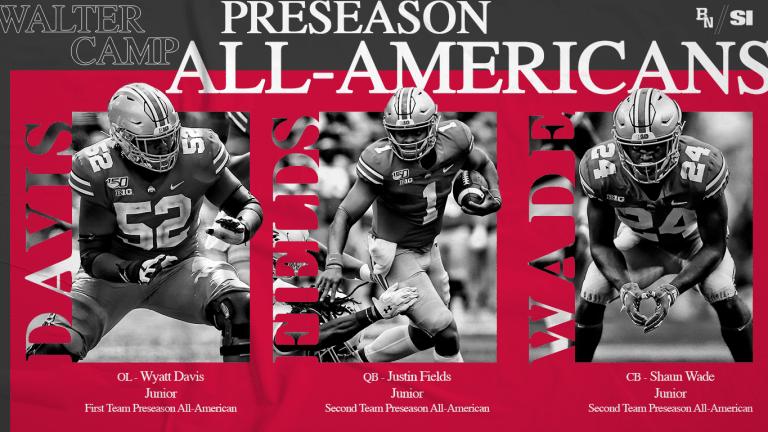 Justin Fields, Wyatt Davis and Shaun Wade Named Preseason All-Americans