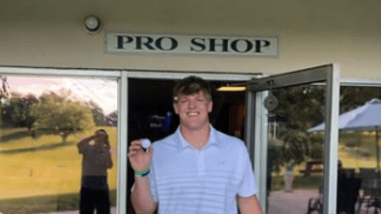 Indiana Football Player Caleb Murphy Makes a Hole-in-One — On a Par-4!