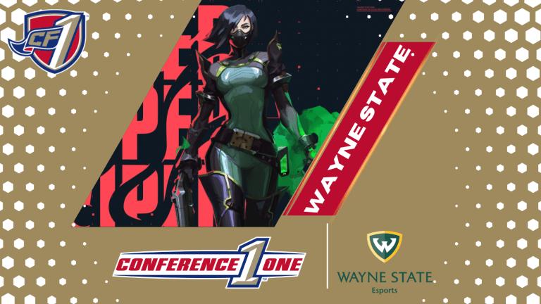 Conference One: Wayne State University (Gold) Esports Team