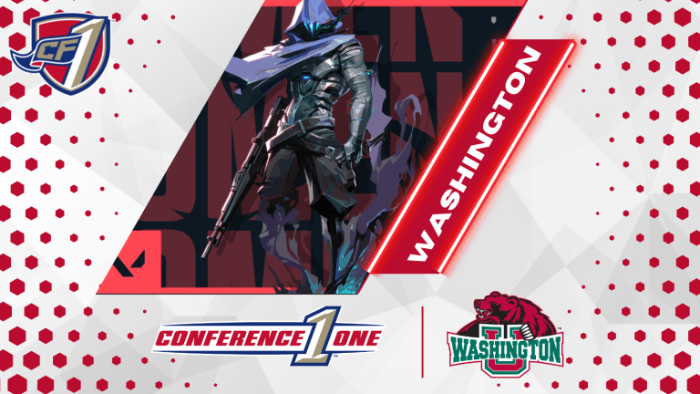 Conference One: Washington University in St. Louis Esports Team