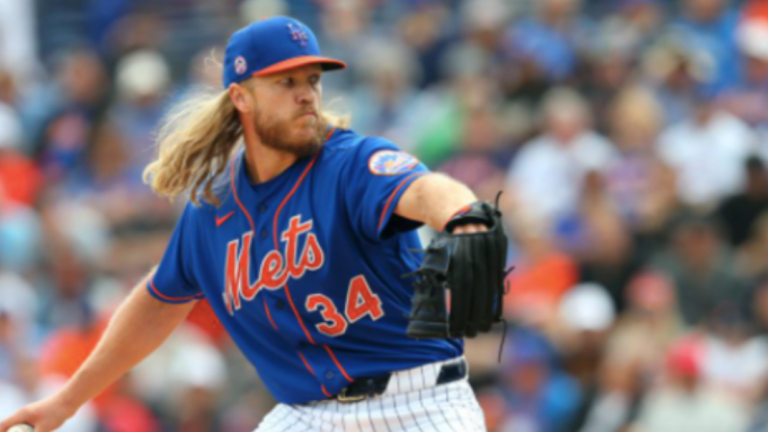 Mets' Noah Syndergaard Looks Sharp In First Rehab Outing