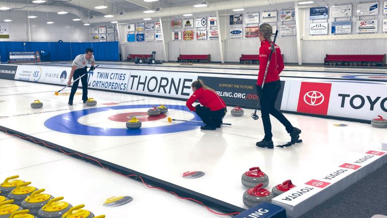 Persinger, Plys Win U.S. Mixed Doubles Curling Crown
