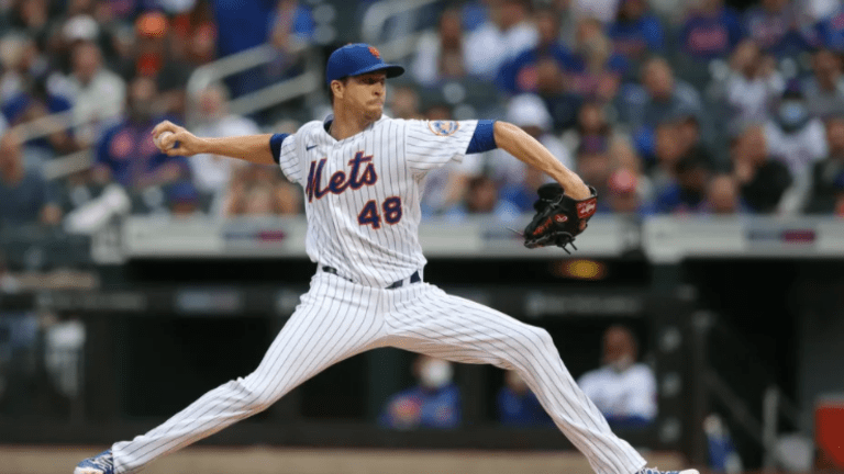 Mets Overcome deGrom's Early Exit To Take Series From Cubs