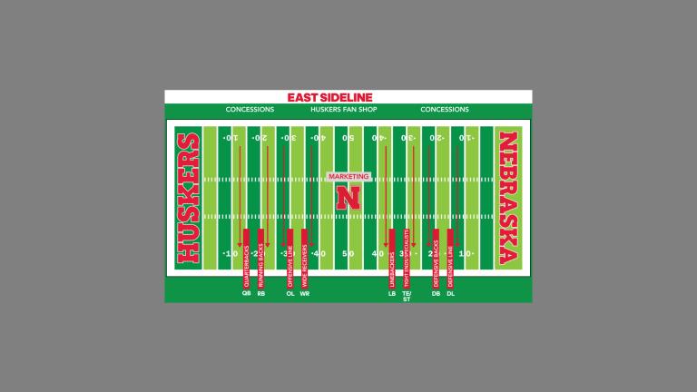 Nebraska Football Fan Day: A Map and Some New Protocols