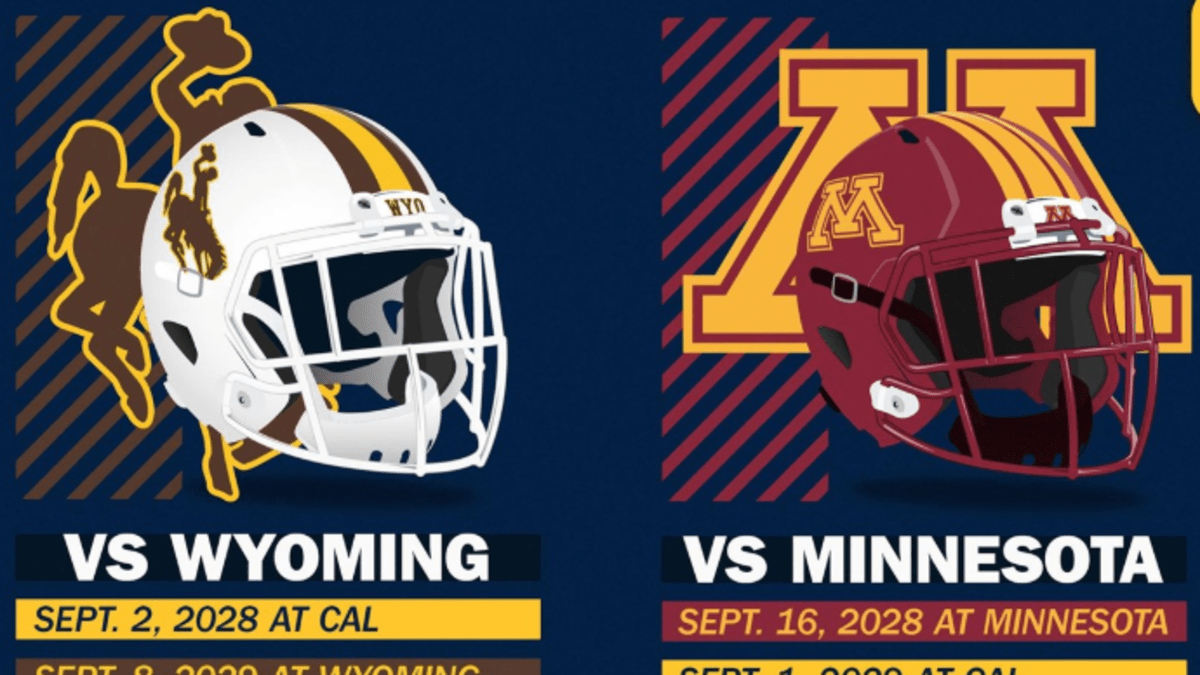 Cal Football Minnesota Wyoming Will Face Bears In Home And Home Series Sports Illustrated Cal Bears News Analysis And More