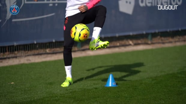 Neymar's return to Paris Saint-Germain training