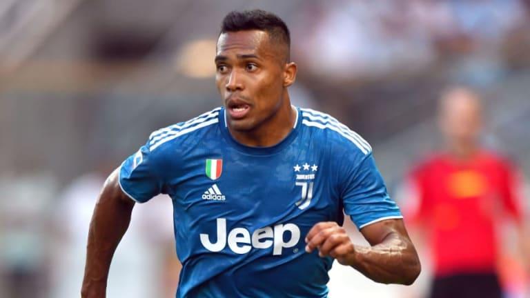 Alex Sandro Juventus Away Jersey