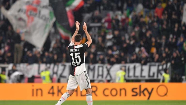 Andrea Barzagli Juventus Home Jersey