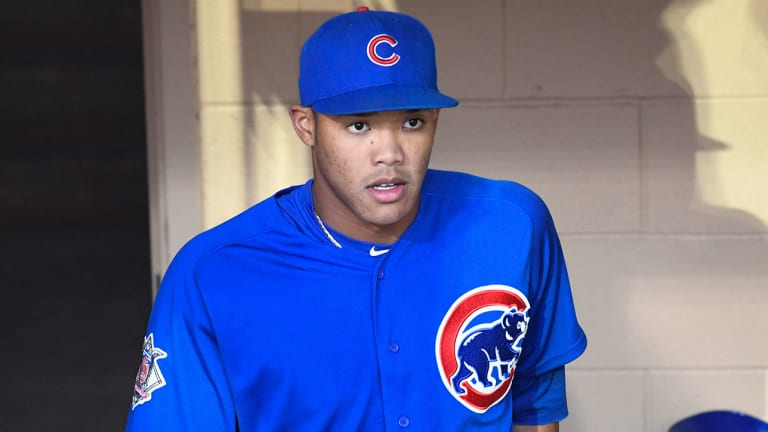 Addison Russell Chicago Cubs Baseball Player Jersey