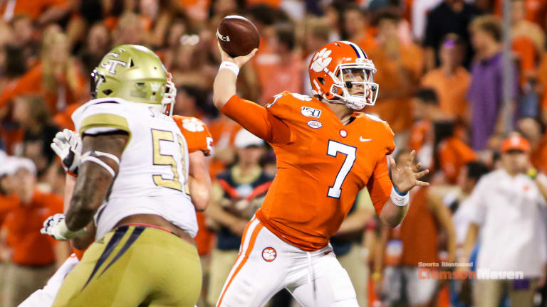 Chase Brice: A Backup With a Legacy - Sports Illustrated Clemson ...
