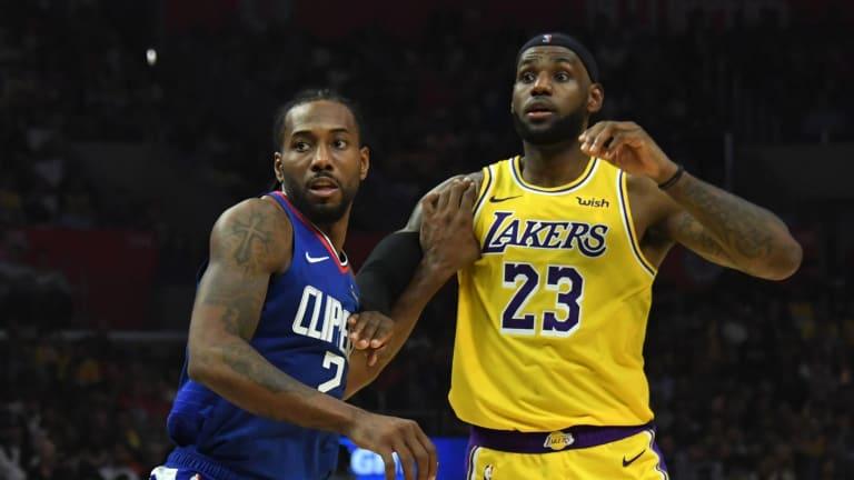 LA Clippers Kawhi Leonard's Jersey More Popular Than LeBron James ...