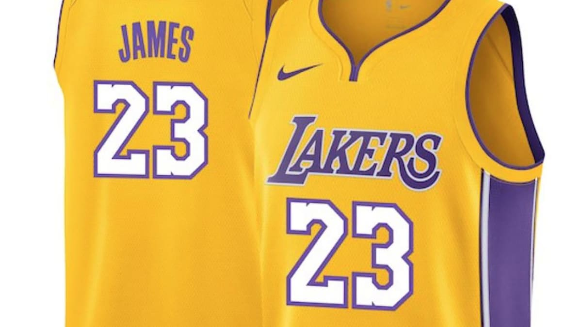 LeBron James Lakers jersey number: Star chooses 23 - Sports ...