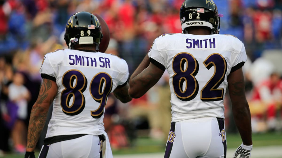 Baltimore Ravens' Steve Smith on changing name on jersey to ...