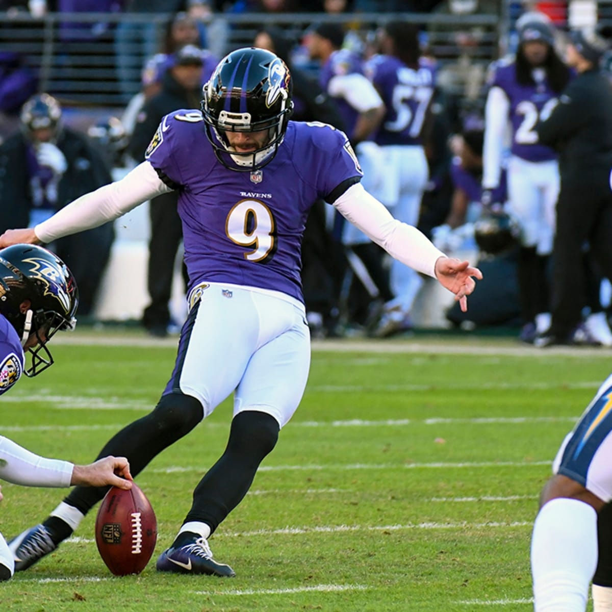 Justin Tucker Contract Extension Ravens Kicker To Sign 20 Million Deal Sports Illustrated