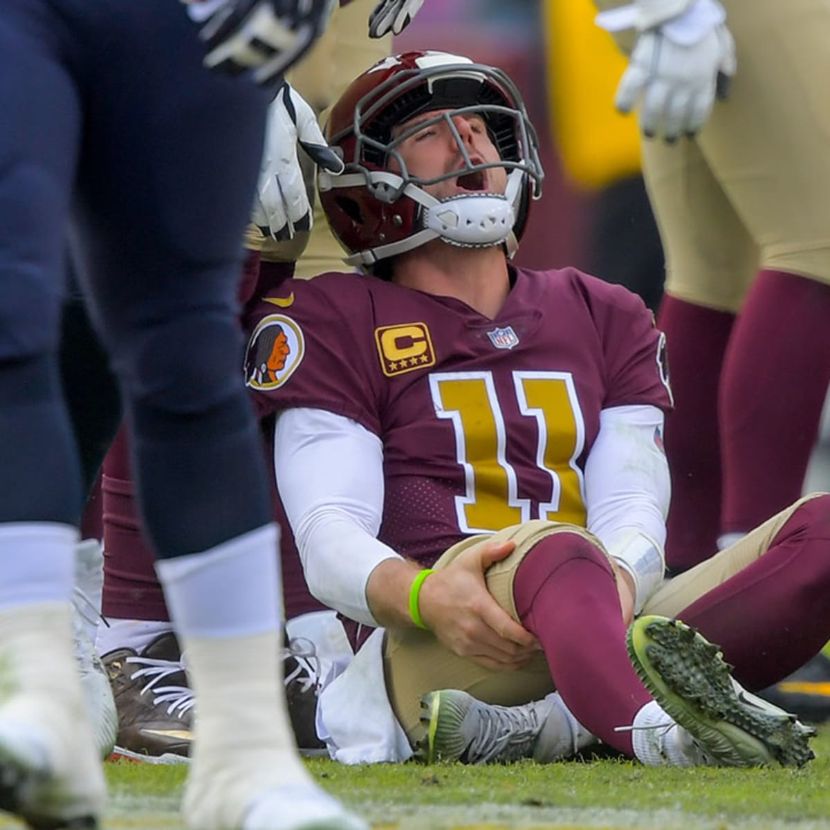Redskins Qb Alex Smith Battling Infection From Leg Surgery Sports Illustrated
