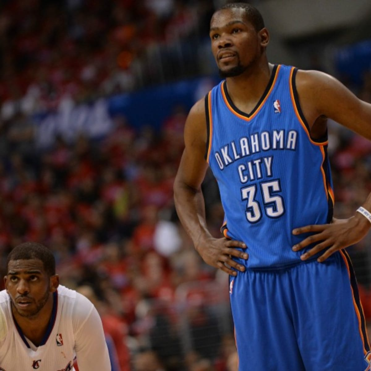Thunder S Kevin Durant Is Owning Up To His Adjustable Height Sports Illustrated