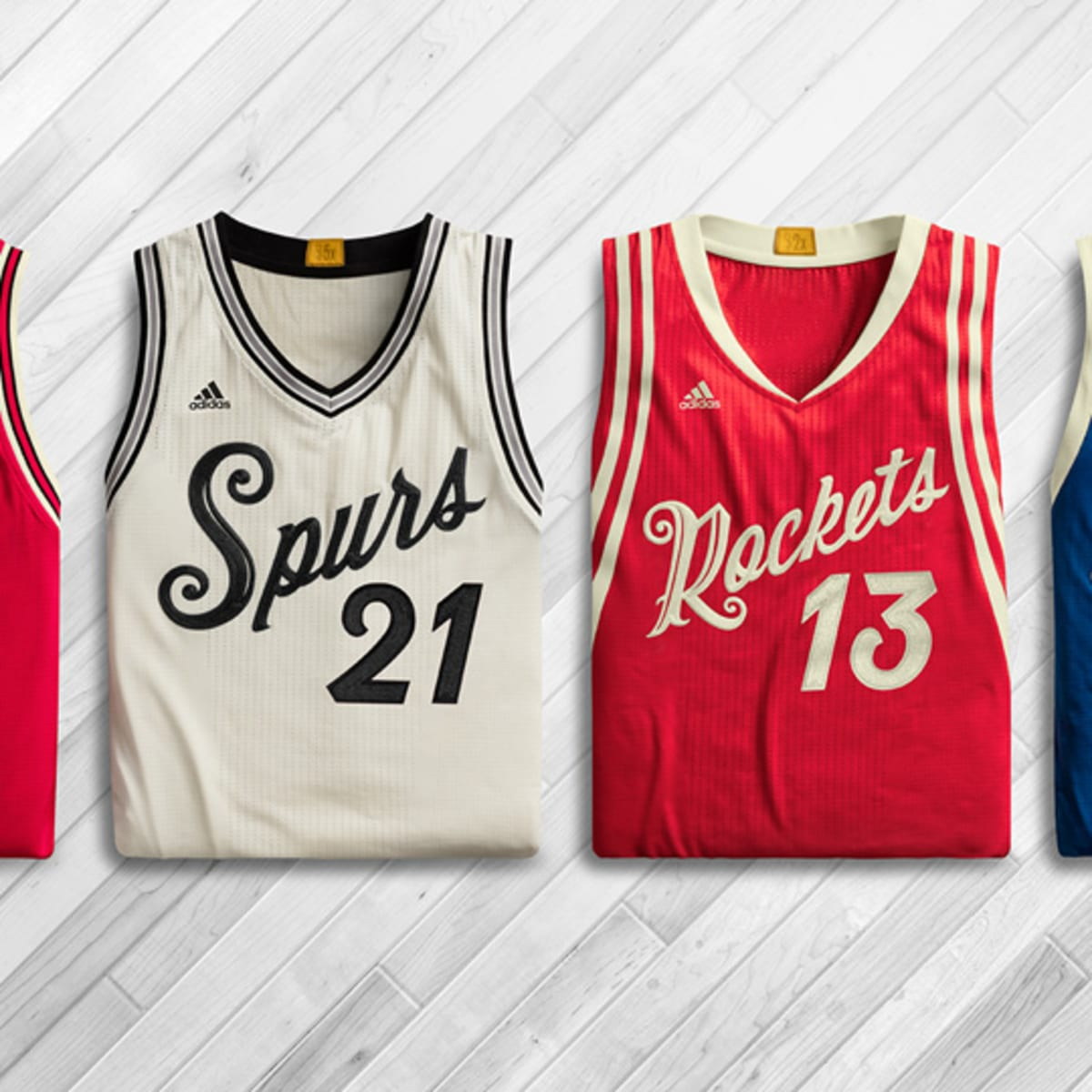 NBA Christmas Day jerseys featured in
