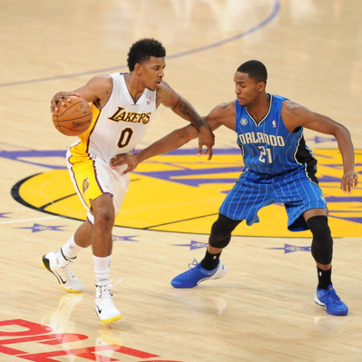 Lakers' Nick Young has 'Air Yeezy 2