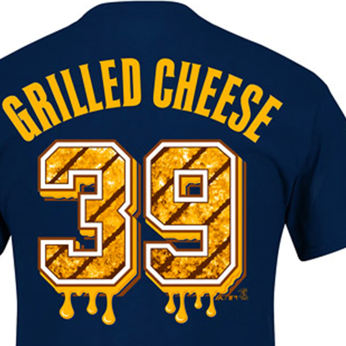 Jason Grilli Grilled Cheese shirts