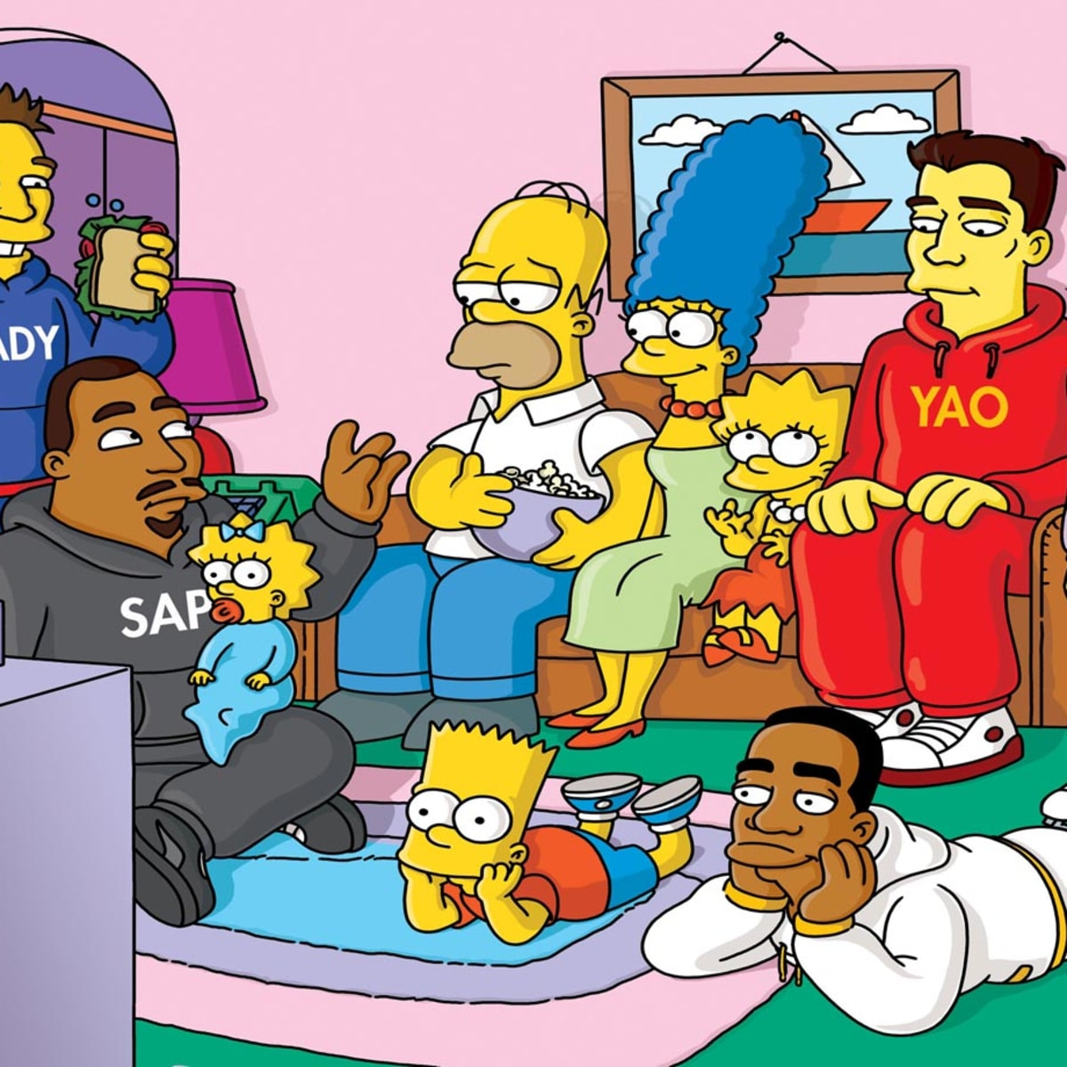 Sports Figures On The Simpsons Sports Illustrated Watch the buzz on maggie show online full episodes for free. sports figures on the simpsons sports