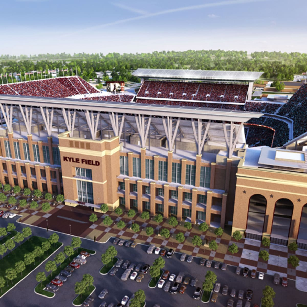 Texas A M S Redone Kyle Field Now Largest In Sec Sports Illustrated