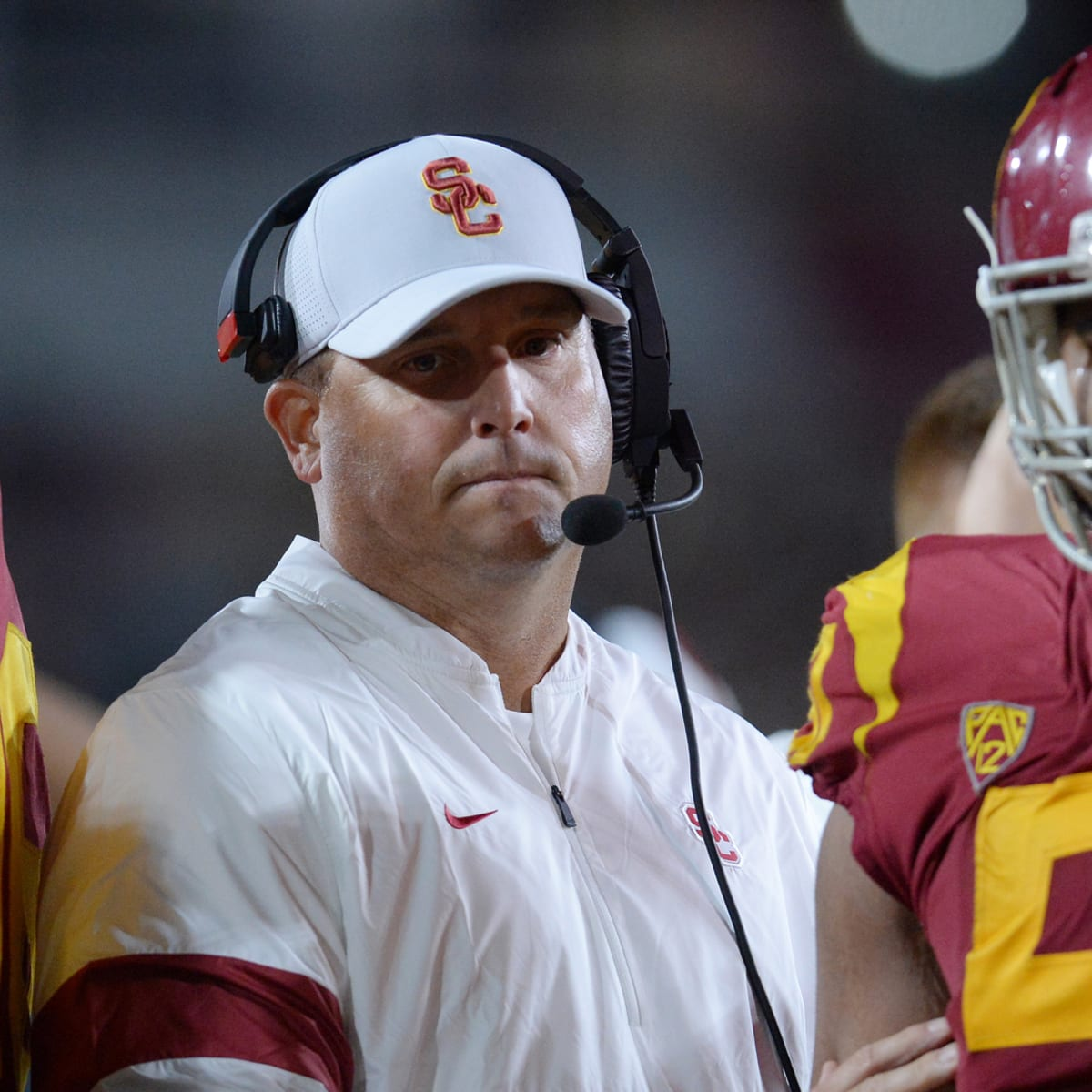Sources Usc Disputes Report Head Coach Clay Helton Is Being Fired Sports Illustrated