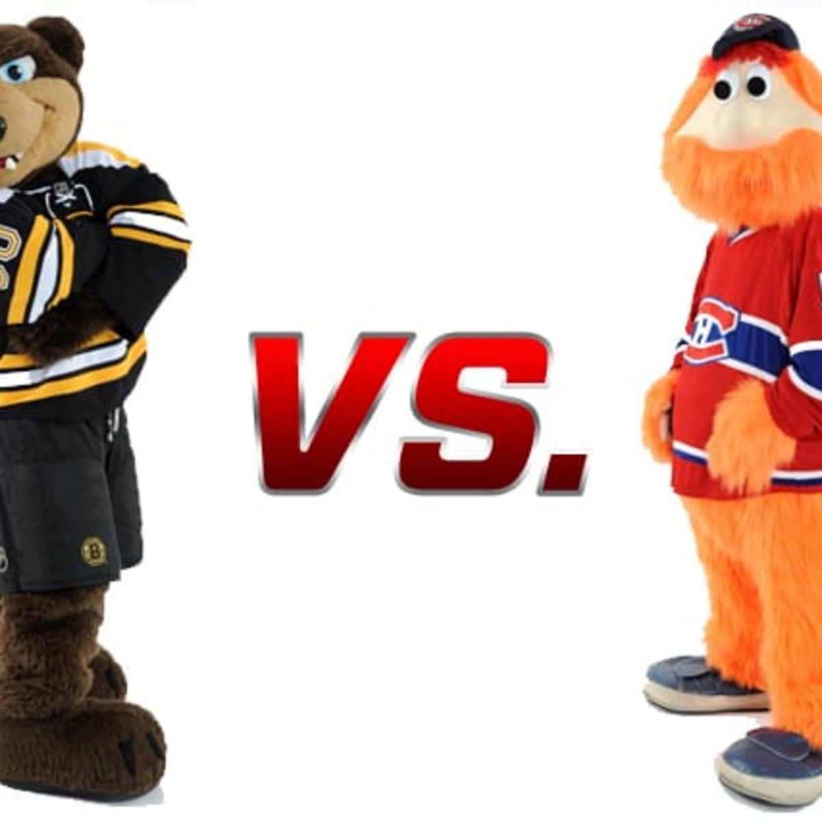 Boston Bruins Vs Montreal Canadiens Mascot Showdown The Hockey News On Sports Illustrated