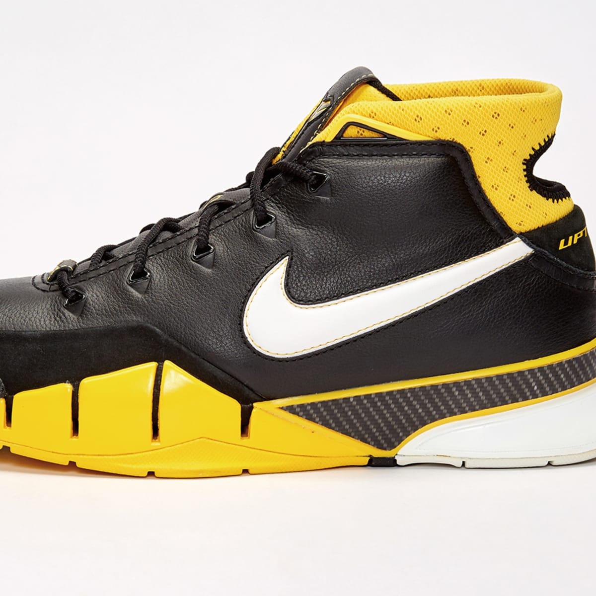 Kobe Bryant's first Nike signature