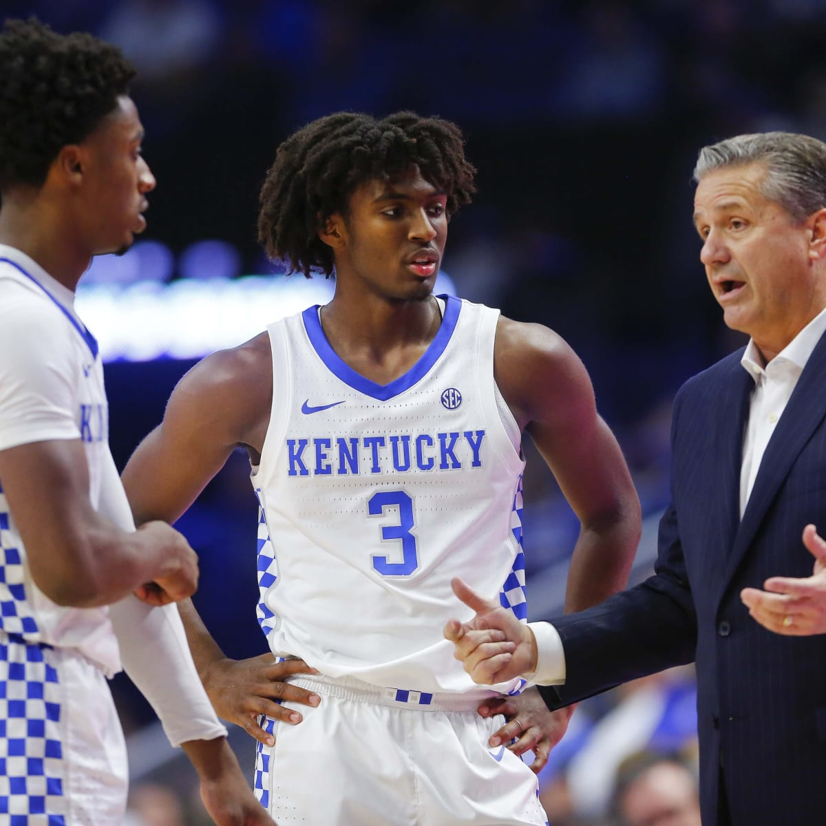 Kentucky S John Calipari Says Sixers Got A Steal With Tyrese Maxey Sports Illustrated Philadelphia 76ers News Analysis And More