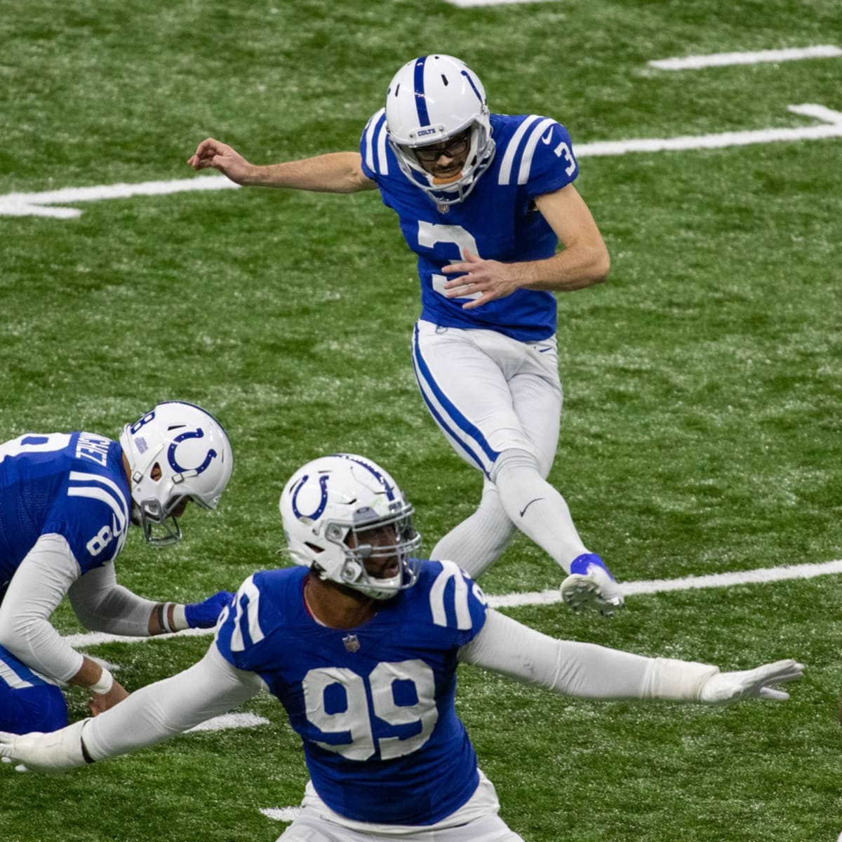 Indianapolis Colts Kicker Rodrigo Blankenship Receives Afc Honor Has Early Lead For Another Sports Illustrated Indianapolis Colts News Analysis And More