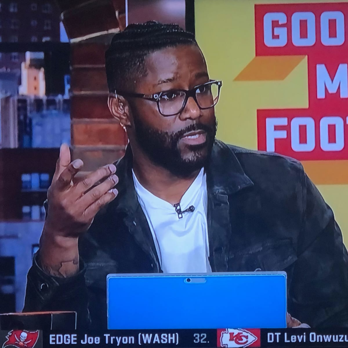 NFL Network's Nate Burleson talks Chad Wheeler arrest on air - Sports Illustrated