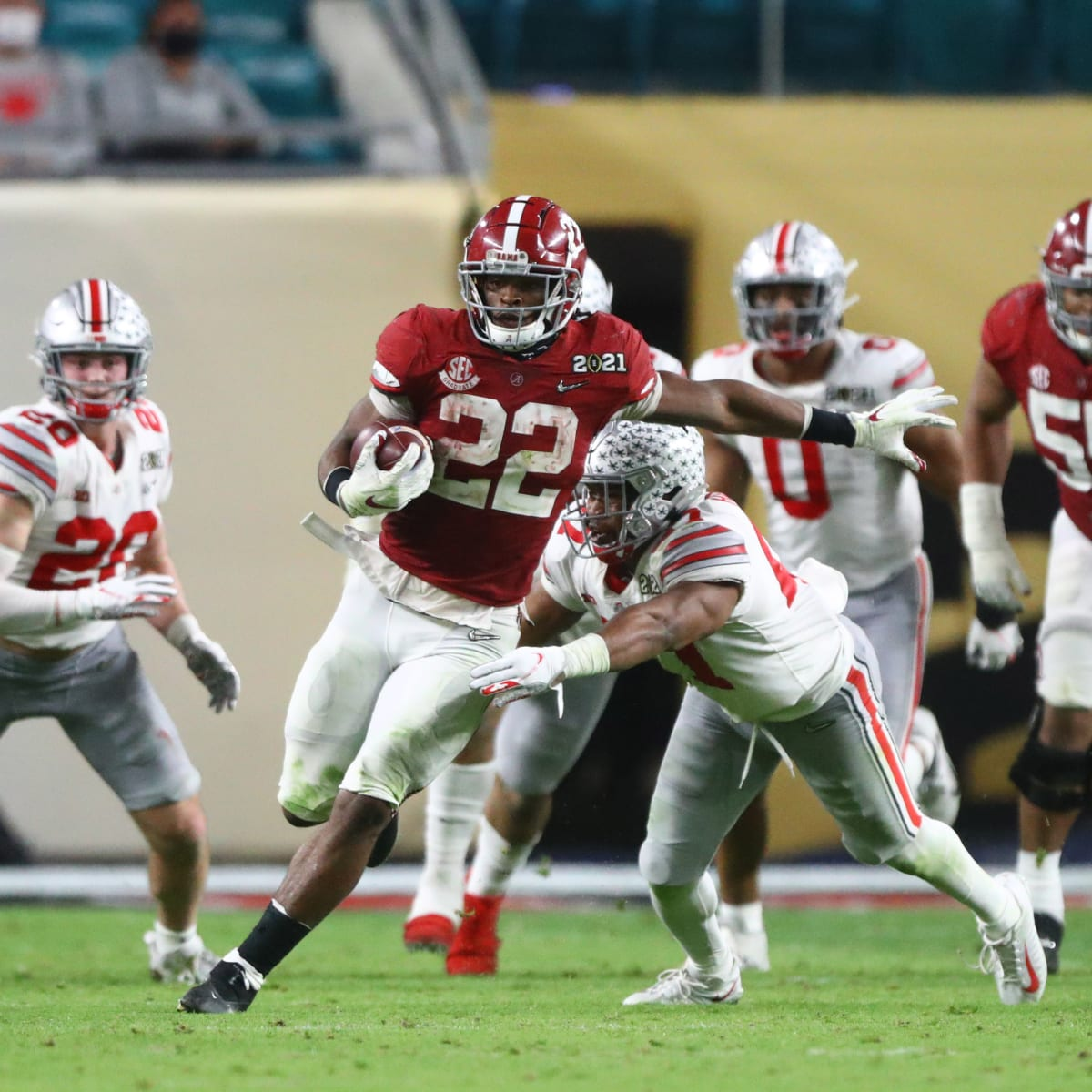 Hot Take Tuesday: Alabama running back Najee Harris will be a future Hall of Famer - The NFL Draft Bible on Sports Illustrated: The Leading Authority on the NFL Draft