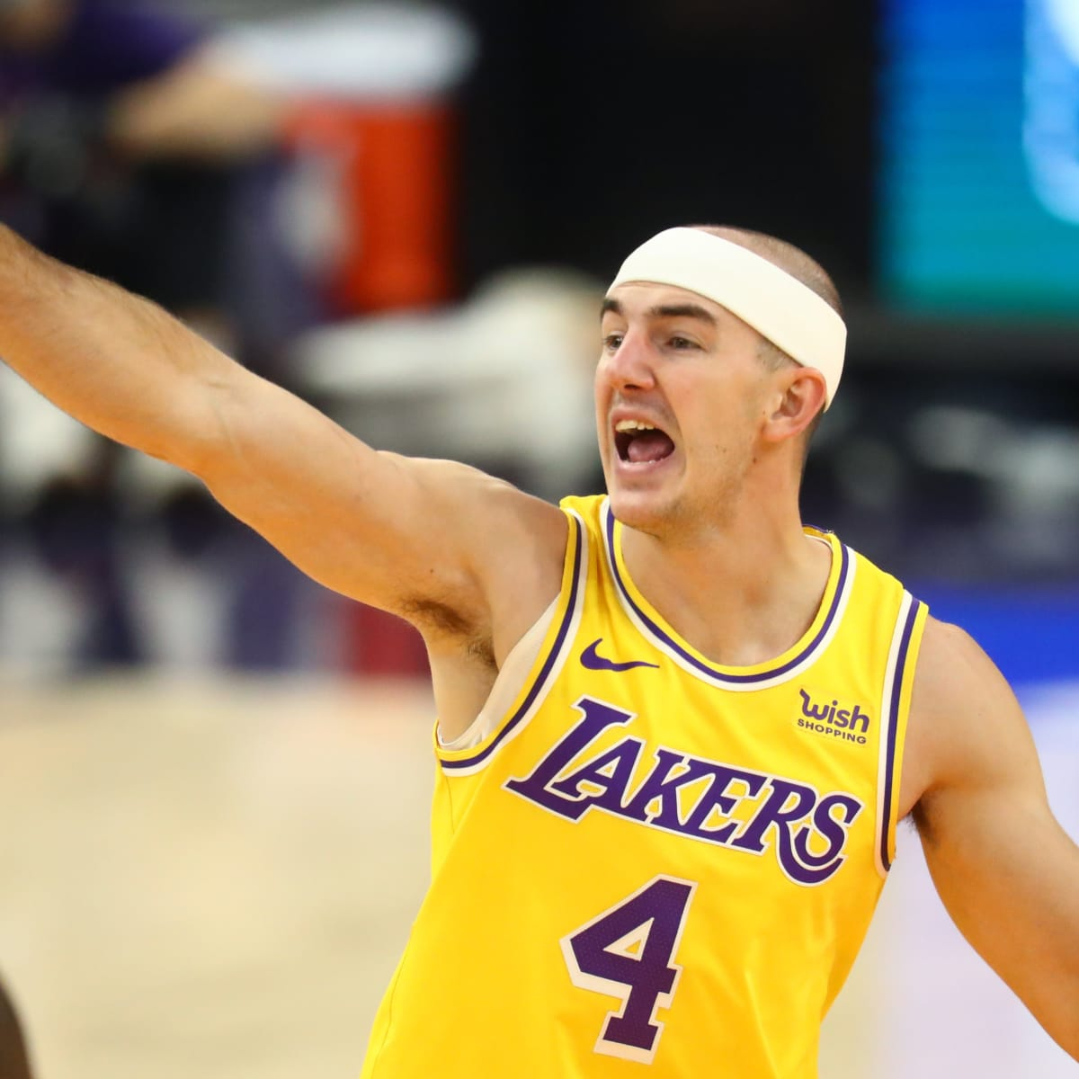 NBA All Star Game voting: Lakers' Alex Caruso sneaks into top 10 - Sports  Illustrated