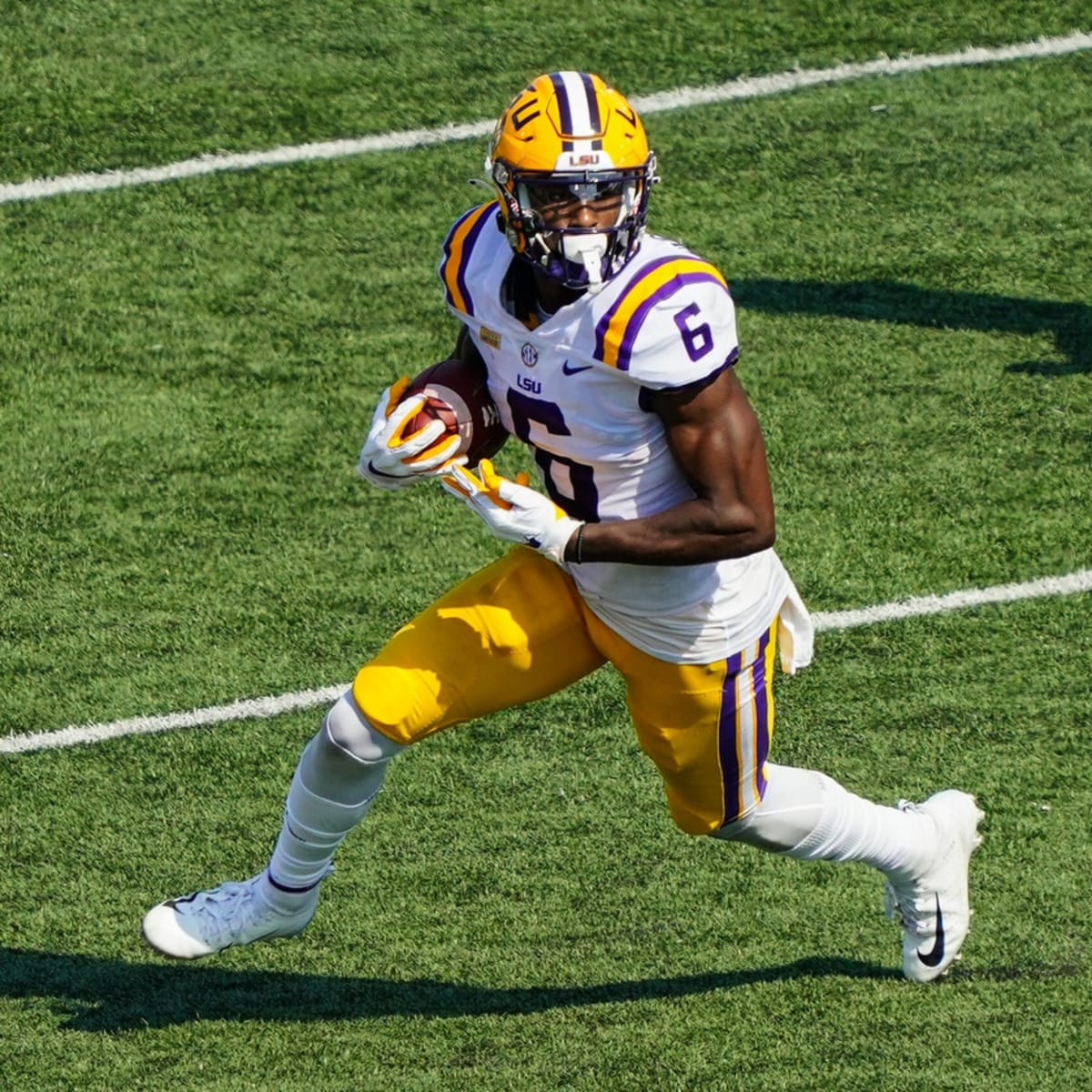 2021 NFL Draft Prospect Profile: WR Terrace Marshall, Jr, LSU - Sports  Illustrated New York Giants News, Analysis and More
