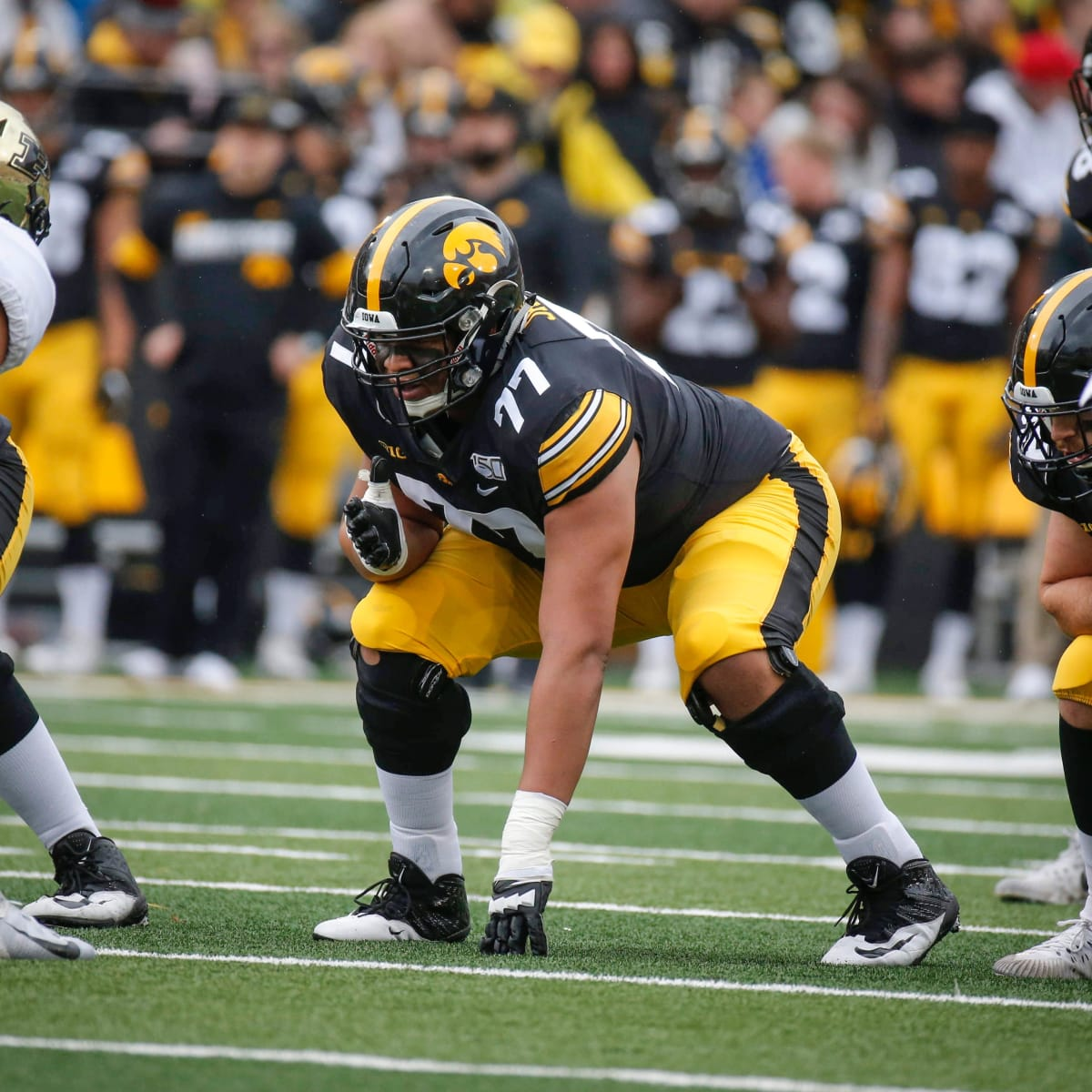 Alaric Jackson - Offensive Tackle Iowa Hawkeyes 2021 NFL Draft Scouting  Report - The NFL Draft Bible on Sports Illustrated: The Leading Authority  on the NFL Draft