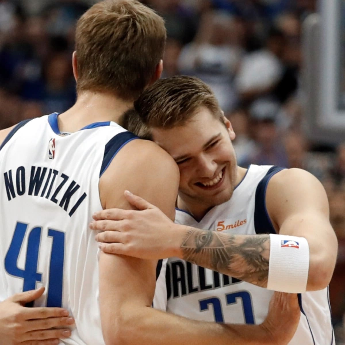 Rumor Dallas Mavs Luka Doncic Dirk Nowitzki To Be Featured On Nba 2k22 Covers Sports Illustrated Dallas Mavericks News Analysis And More