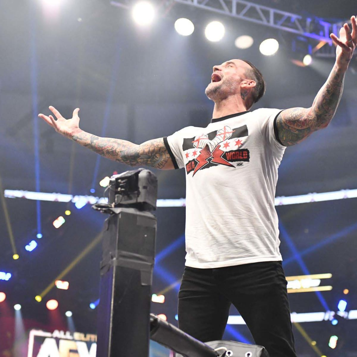 CM Punk makes his AEW debut seven years after leaving WWE - Sports  Illustrated