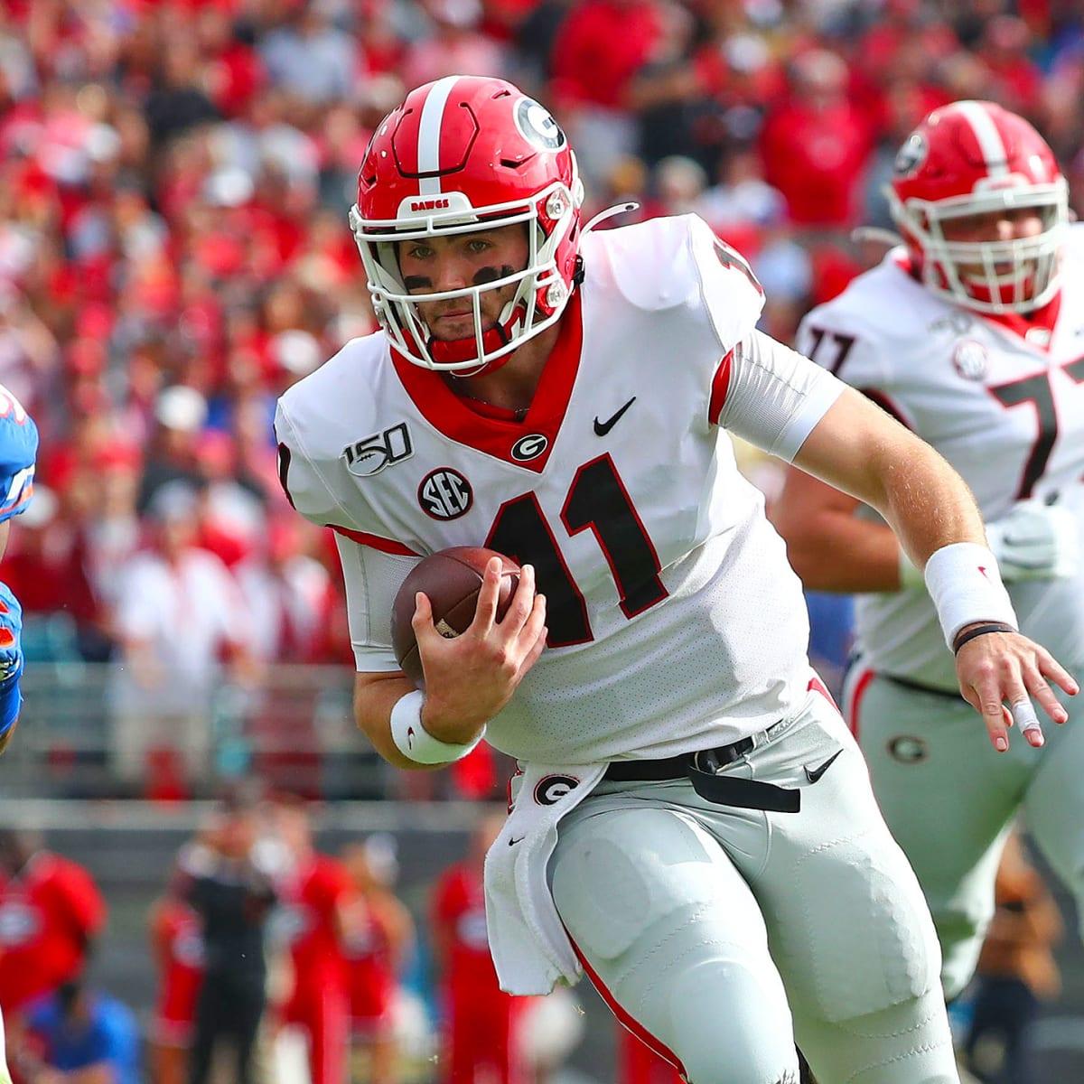 Jake Fromm Georgia Bulldogs Football Jersey - Red