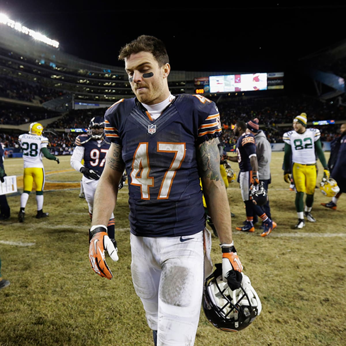 Bears' Chris Conte believes playing in the NFL is worth a shorter life