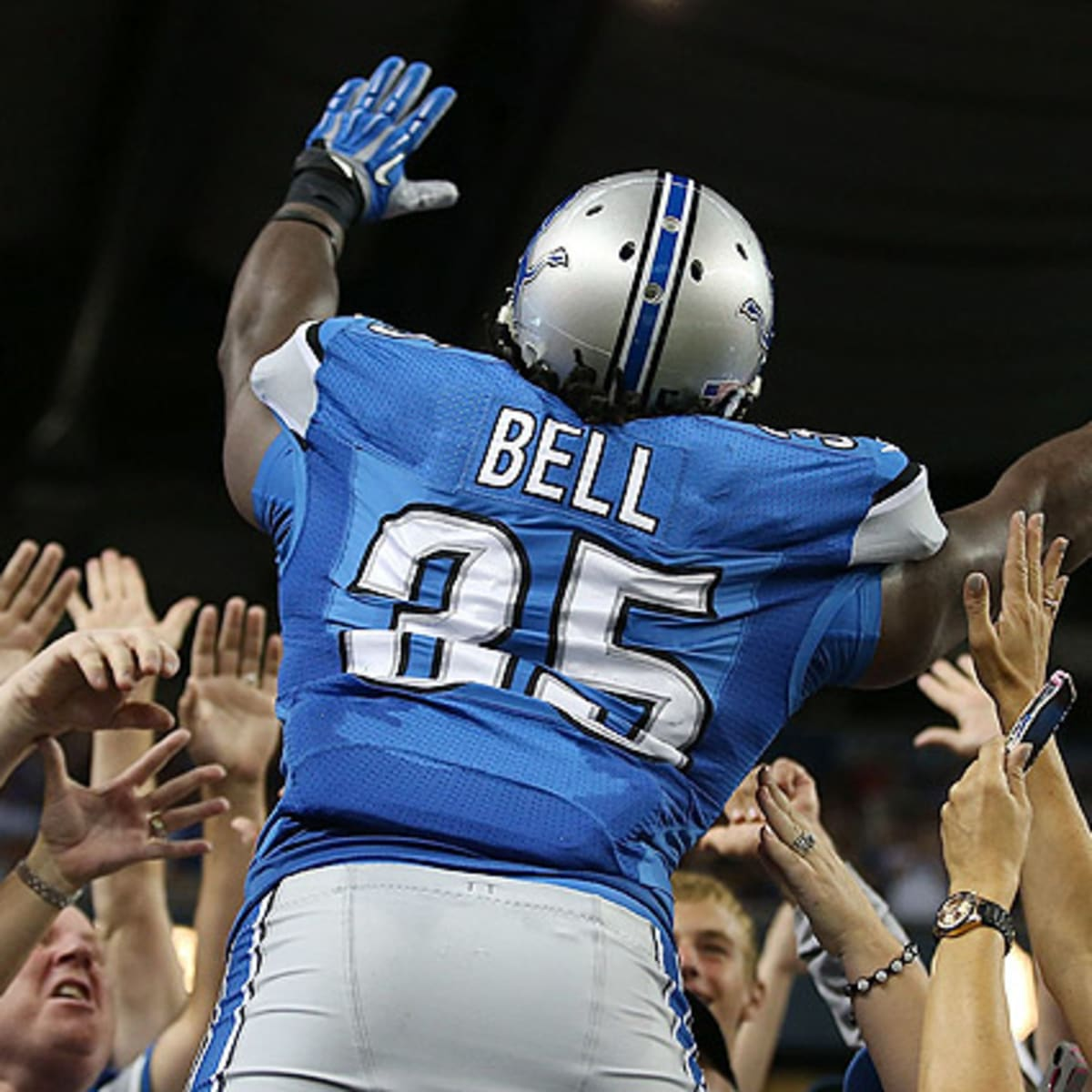 Joique Bell signs extension with Lions - Sports Illustrated