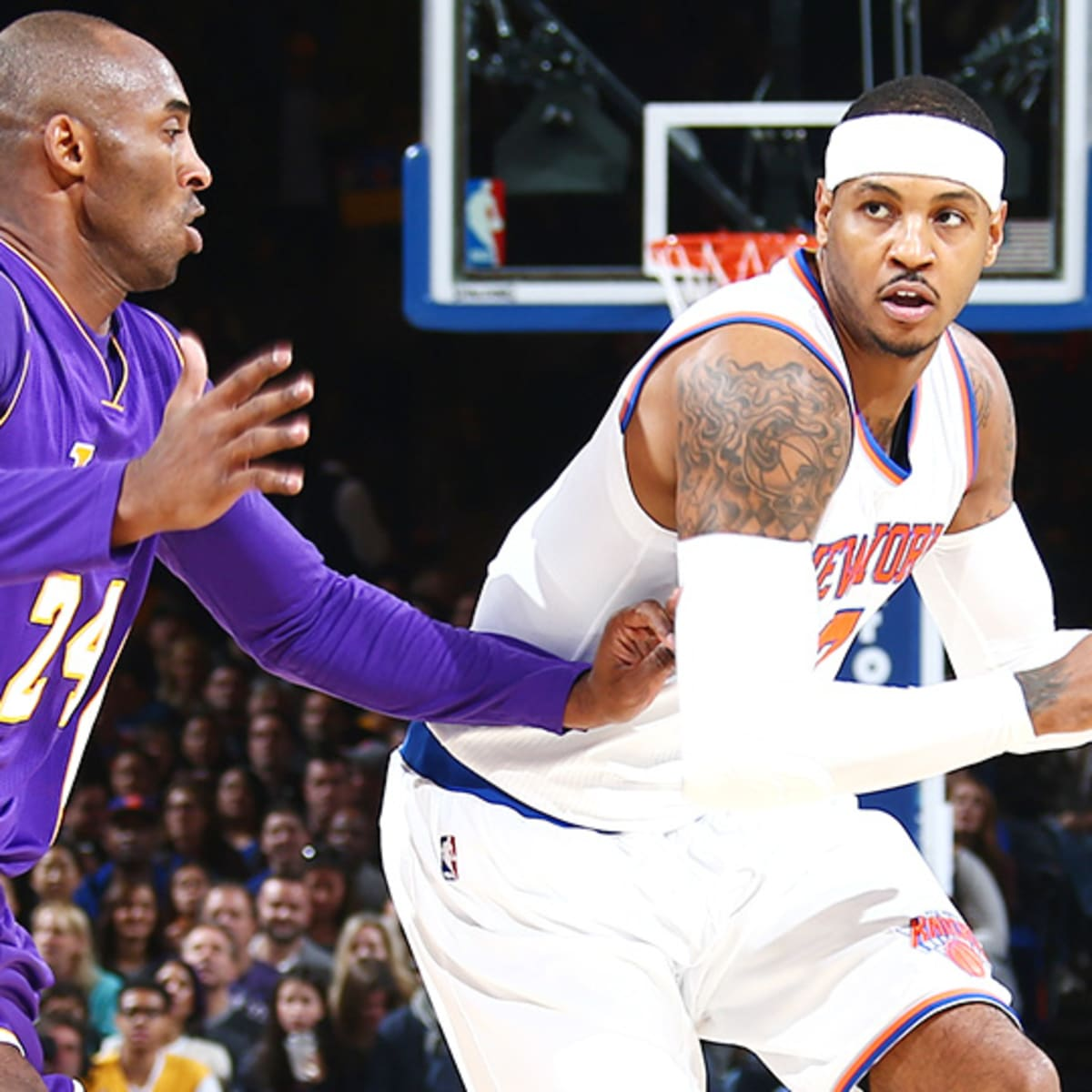 Knicks vs. Lakers: Kobe Bryant plays potentially last game at MSG ...